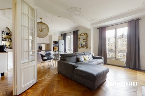 vente appartement de 91.29m² à paris