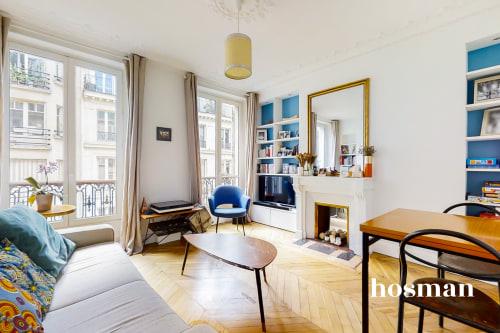 vente appartement de 49.64m² à paris