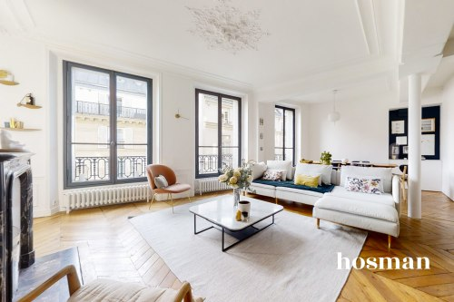 vente appartement de 86.58m² à paris