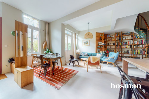 vente appartement de 87.3m² à paris