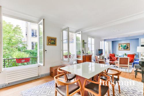 vente appartement de 120.44m² à paris