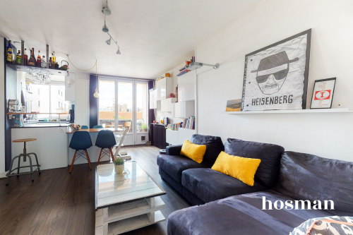 vente appartement de 54.19m² à pantin