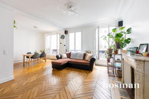 vente appartement de 87.14m² à paris