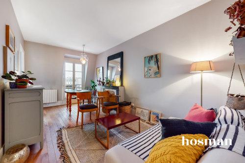 vente appartement de 32.6m² à paris