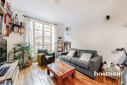 vente appartement de 38.11m² à paris