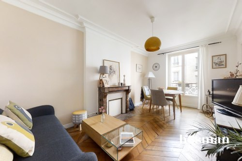 vente appartement de 53.0m² à paris