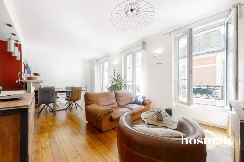 vente appartement de 57.0m² à paris
