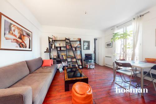 vente appartement de 36.7m² à paris