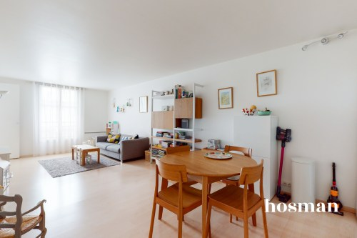 vente appartement de 59.6m² à paris