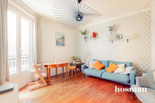 vente appartement de 50.65m² à paris