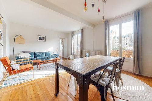 vente appartement de 53.27m² à paris