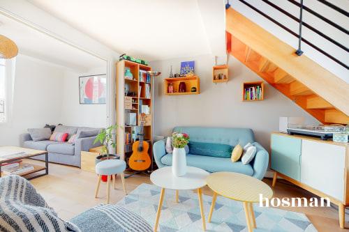vente appartement de 45.0m² à paris