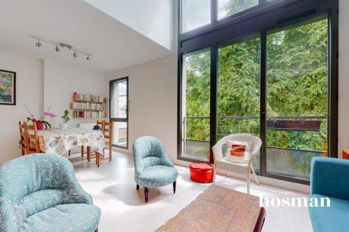 vente appartement de 100.09m² à montreuil