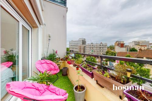 vente appartement de 66.51m² à nanterre