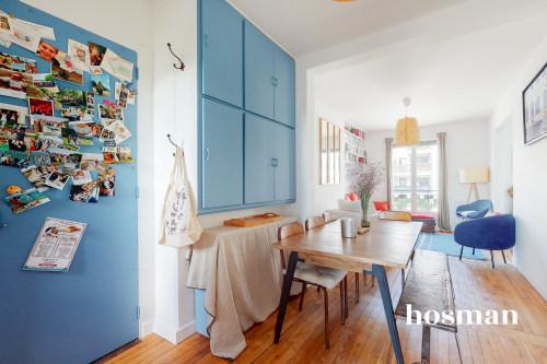 vente appartement de 52.0m² à saint-ouen