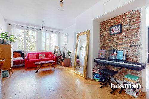 vente appartement de 50.72m² à paris