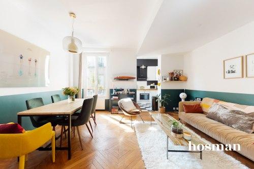 vente appartement de 51.25m² à paris