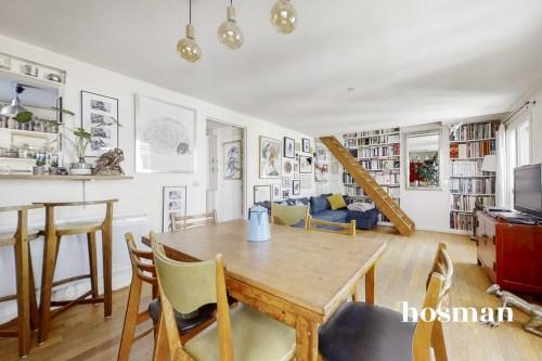 vente appartement de 47.27m² à paris