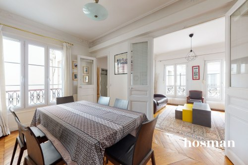 vente appartement de 56.7m² à paris