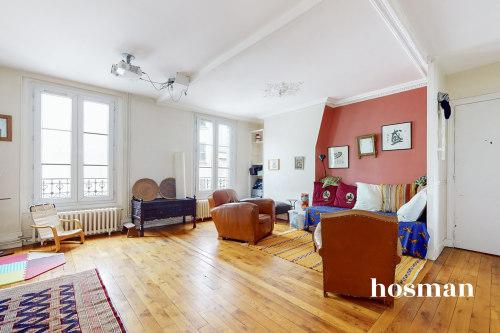 vente appartement de 89.53m² à paris