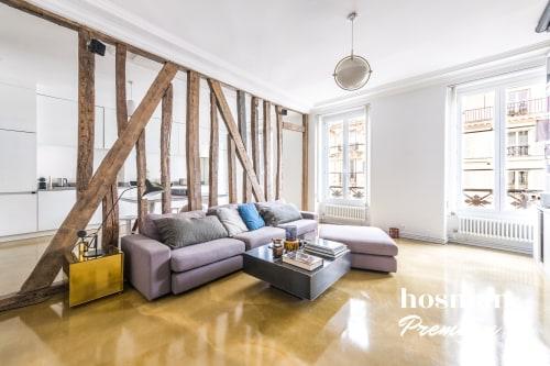 vente appartement de 91.0m² à paris
