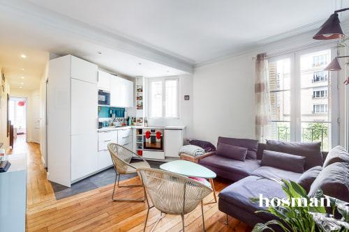 vente appartement de 50.64m² à paris