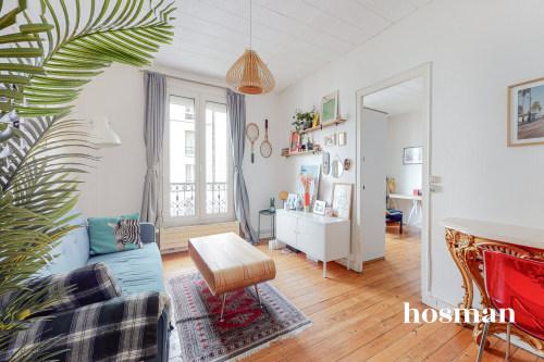 vente appartement de 43.47m² à paris