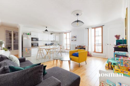 vente appartement de 82.01m² à paris
