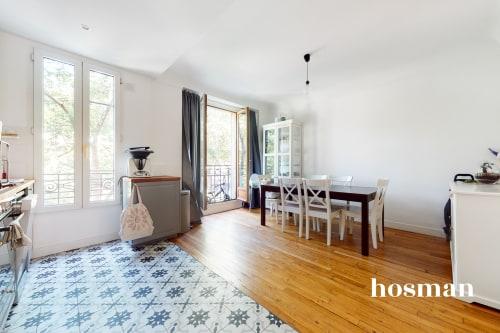 vente appartement de 69.0m² à clichy