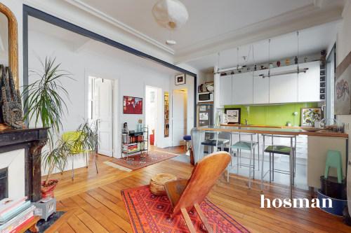 vente appartement de 57.17m² à paris
