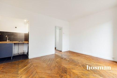 vente appartement de 25.25m² à paris