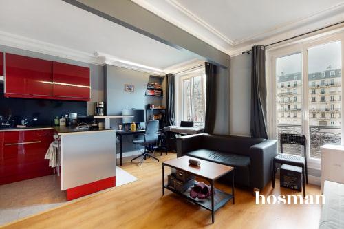 vente appartement de 39.07m² à paris