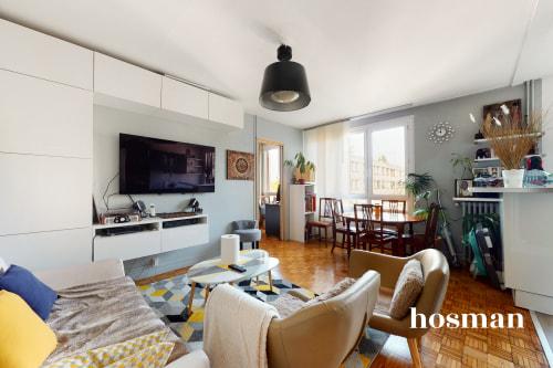 vente appartement de 57.01m² à clamart