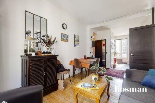 vente appartement de 45.37m² à paris
