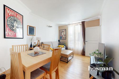 vente appartement de 33.8m² à paris