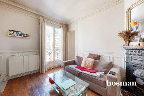 vente appartement de 32.52m² à paris