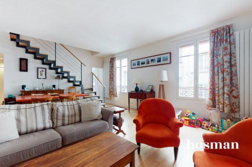 vente appartement de 84.86m² à paris