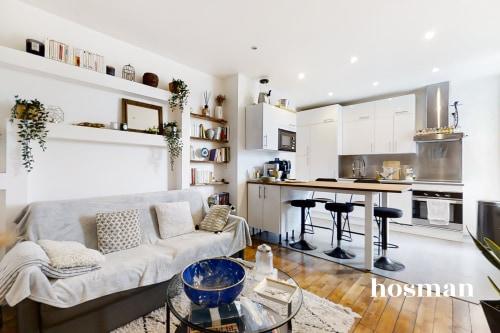 vente appartement de 44.2m² à clichy