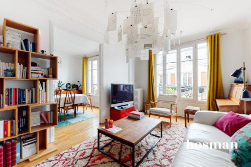 vente appartement de 85.77m² à asnières-sur-seine