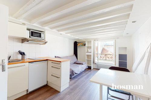 vente appartement de 16.57m² à paris