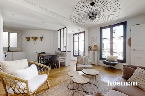vente appartement de 64.0m² à paris