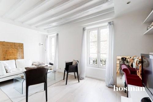 vente appartement de 51.55m² à paris