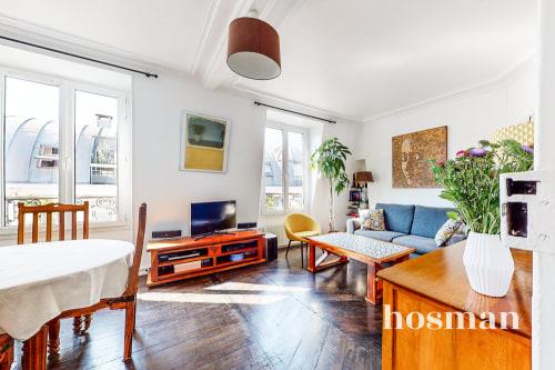 vente appartement de 50.0m² à levallois-perret