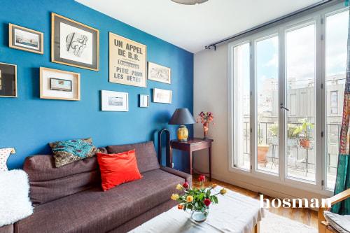 vente appartement de 60.96m² à paris