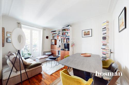 vente appartement de 51.4m² à paris