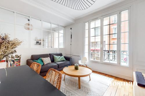 vente appartement de 53.5m² à paris