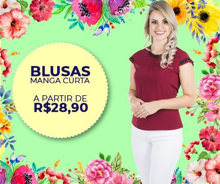 Blusas Femininas - Pré Coleção Primavera Verão