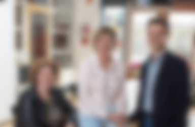 Vlnr: locatieleider Angela van Scheppingen, P&O-adviseur Esther Turkesteen en locatieleider Wouter Eijkman