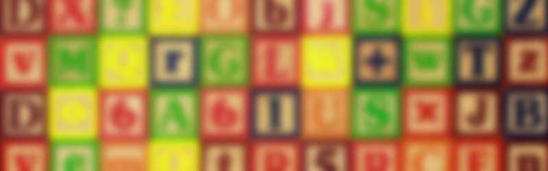 letterblokken