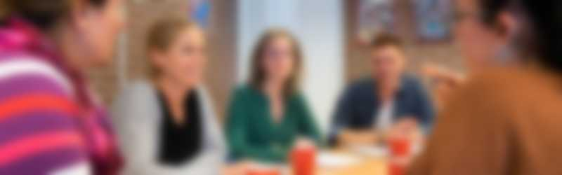 vergadertafel leraren